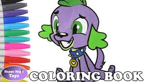 mlp equestria girls spike coloring book pages my little pony spike