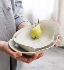 white ceramic etsy white ceramic plate set serving platter nesting dish