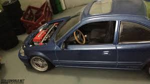 custom honda civic si revell honda civic si scaledworld