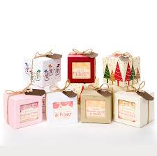 set three soaps christmas gift by bakewell soap company