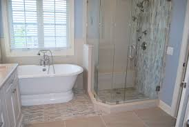 stone waterfall tile bathroom remodel in rochester ny concept ii