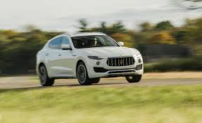 maserati levante white 2017 maserati levante in depth model review car and driver