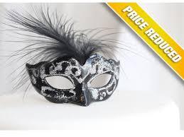 miniature mardi gras masks miniature mini masquerade masks black silver cake topper my