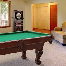 barrington 90 inch ball and claw leg billiard pool table with
