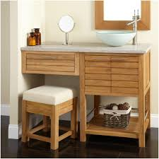 bathroom vessel sink ideas style bathroom ideas 48 salinas teak vessel sink vanity diy open