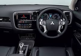 mitsubishi crossover interior 2016 mitsubishi outlander phev revealed more refined added