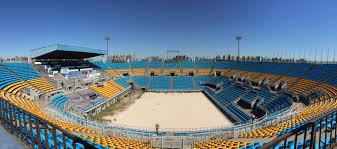 Rio Olympic Venues Now Sandy Balls U2013 Olympic Volleyball Stadium U2013 Beijing U2013 Grade B