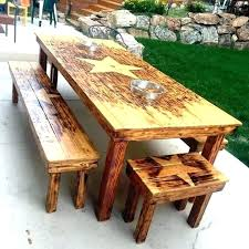 Indoor Wood Bench Plans Dining Table 2x4 Dining Table Plans Bench Handmade Custom