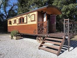 roulotte 2 chambres location roulotte à elne pour 8 personnes iha 11002