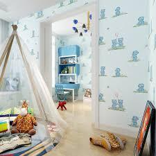 aliexpress com buy cute bear wallpaper for kids room child boy