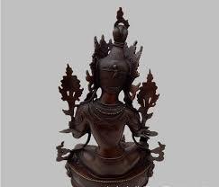 suirong 2017 623 a genuine copper green tara white tara buddha