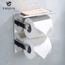 yanjun 2016 new style double vertical roll toilet paper holders