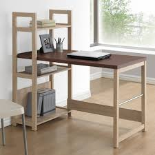 Registry Row Desk Mercury Row Iversen Writing Desk With Bookshelf U0026 Reviews Wayfair