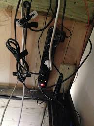 How To Organize Cables On Desk by Hide Cords Glass Desk Decorative Desk Decoration