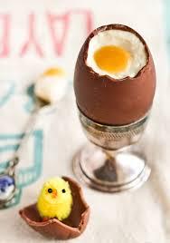 hollow chocolate egg mold raspberri cupcakes cheesecake filled chocolate easter eggs
