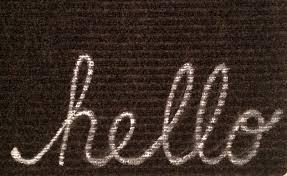 100 no soliciting welcome mat best 20 coir doormat ideas on