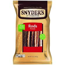 where to buy pretzel rods snyder s of hanover pretzel rods 12 oz walmart
