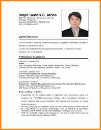 resume format 2017 philippines 3 applicant resume sle filipino driver resume