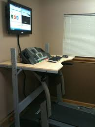 Diy Treadmill Desk Ikea The Better Looking Ikea Jerker Treadmill Desk Apartment Therapy