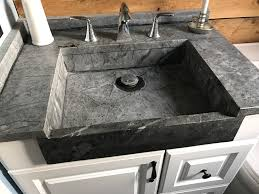 bathroom sink artistic soapstone incorporated