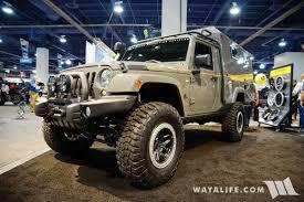 black aev jeep 2017 sema aev outpost ii jeep jk wrangler camper