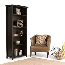 5 Foot Wide Bookcase Horizontal Bookshelves U0026 Bookcases Shop The Best Deals For Nov