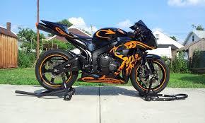 honda 600 rr 2007 black and orange reflective graffiti cbr600rr u2013 ridecbr com