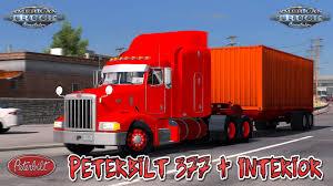 truck pack v1 5 american truck simulator mods ats mods peterbilt 377 interior v1 0 1 28 x american truck simulator