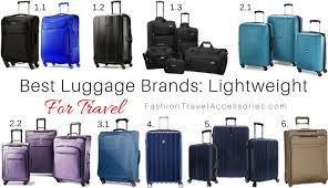 light travel bags luggage best luggage brands for travel lightweight expandable