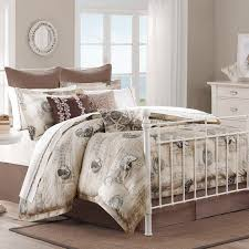 Seashell Queen Comforter Set Bedroom Amazing Anchor Bedding Beach House Quilts Beach Themed