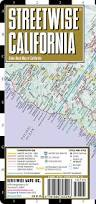 Florida Toll Road Map by Streetwise California Map Laminated State Road Map Of California