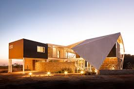 Modern House Roof Design Home Design Fascinating Modern House With Breezy Design