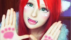How To Do Cat Makeup For Halloween by Anime Makeup S Mugeek Vidalondon