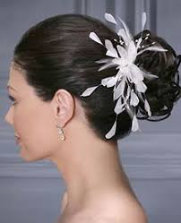 hair accessory bridal feather hair accessory weddings
