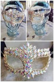 rhinestone mardi gras mask fleurty girl everything new orleans rhinestone mask