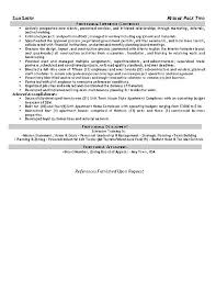 Coordinator Resume Examples by Safety Coordinator Resume Example