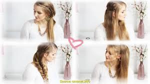 Hochsteckfrisuren Mittellange Haare Einfach by Wunderbar Lange Haare Bekommen Was Tun Deltaclic