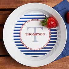 personalized melamine platters personalized melamine bowls nautical for the home