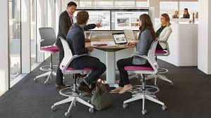 D Shaped Conference Table Media Scape Meeting Conference Technology Steelcase