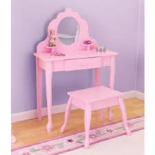 Levels Of Discovery Princess Vanity Table And Chair Set Order Kid U0027s Vanities With Mirror For Your Little From Ababy Com