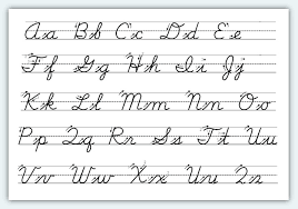 beautiful cursive writing letters how to format a cover letter