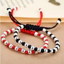 shamballa bracelet handmade images 990 sterling silver lucky red rope handmade shamballa bracelet jpg