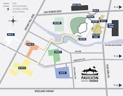 Gold Line Map Venue Maps The Pavilion