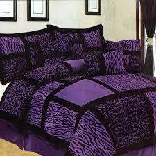 Zebra Bed Set Purple And Zebra Bed Sets Purple And Black Zebra Giraffe
