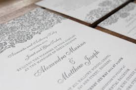 Wedding Invitations Brisbane Little Peach Classic Baroque Letterpress