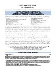 Cra Sample Resume by Marketing Manager Communications Resume Template Premium