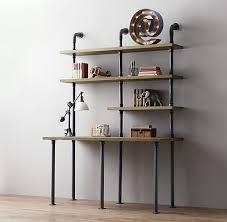 the 25 best pipe desk ideas on pinterest industrial pipe desk