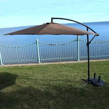 Patio Umbrella With Lights by 10 Ft Cantilever Patio Umbrella Home Design Ideas And Pictures