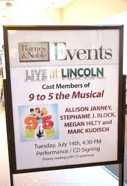 Barnes And Noble Anderson Sc Coverage U00279 To 5 The Musical U0027 Celebrates The Original Broadway