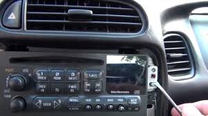 c6 corvette stereo upgrade how to remove a stock radio stereo from a c5 chevrolet corvette